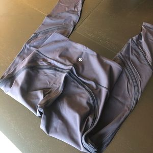 Lululemon wunder under luxtreme mesh leggings